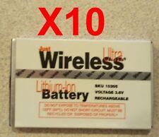 Lot Of 10 Refurbished Motorola V Series Non-Oem Generic V300 V400 V500