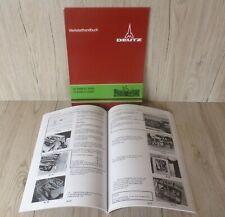 Deutz Werkstatthandbuch für Traktor Hydraulik K45.1 D7006 .