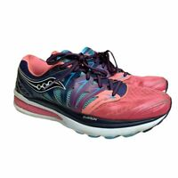 Saucony Hurricane ISO 2 Womens Size 10 Running Shoes S10293-4 Blue Pink Purple