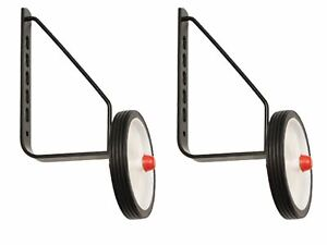 "Adie 200+ Stabilisers White 11-20"" Kids Training Wheels Conforms to CEN Standard"