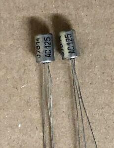 MULLARD/PHILIPS AC125 = NKT275 PNP Germanium Transistors, Premium Set FUZZ FACE