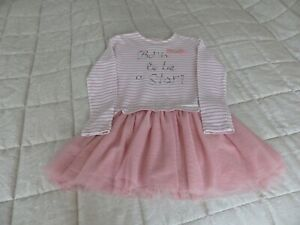 GIRLS DESIGNER MAYORAL PINK TUTU DRESS AGE 9(134) NICE CONDITION