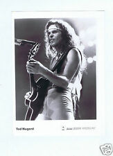 PHOTO PRESS TED NUGENT GUITAR EPIC