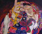 Print -     The Virgin by Gustav Klimt