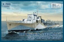 IBG 1/700 ORP kujawiak 1942 Cacciatorpediniere CLASSE Hunt II ESCORT # 70002