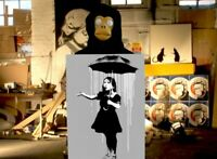 Museum Grade 310gsm Print Anarchist and his Mother High Res BANKSY