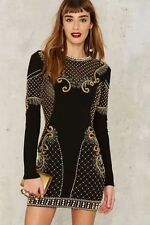 Nasty Gal Collection Love Will Never Do Embellished Dress Size XS $249