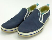 Tommy Bahama Relaxology Ryver slip on casual loafers  men's 10.5 D  blue white