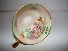 Bavaria~Schumann Arzberg~Germany~Vintage Footed Tea Cup~Wild Rose Blush~