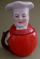 Moutardier personnage cuisinier début XXème