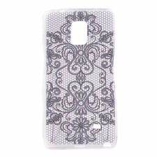 Patterned Silicone/Gel/Rubber Cases for Samsung Galaxy Note 4