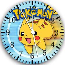 Pokemon Pikachu Frameless Borderless Wall Clock Nice For Gifts or Decor Z44