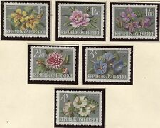 Autriche 1145 - 1150 de Vienne internationale Jardin regarde (Wig' 64) - 1964 **