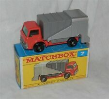 1960s.Lesney Matchbox.7,FORD REFUSE.TRUCK.Garbage.Trash.Mint in Box;Original