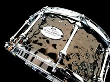 CHAOS METAL FORGE 14'' x 6.5'' HAMMERED STEEL SNARE DRUM - AUSTRALIAN COMPANY