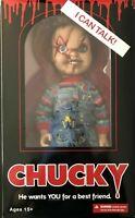 "Mezco Toyz Talking Scarred Chucky Childs Play Horror Mega Scale 15"" Doll 78003"
