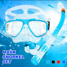 Keep Diving Mask Scuba Snorkel Goggles Face Glasses with Breath Tube for Adults