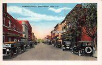 Postcard Howard Street in Greenwood, Mississippi~121743