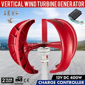 Turbina Energia Eolica 400W 12V Generatore con 5 Lame in Fibra di Nylon