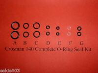 Crosman Model 140 Two Complete O-Ring  Seal Kits for .22 cal.