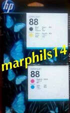 HP 88 Magenta/Cian Genuino, Negro/Amarillo los cabezales de impresión C9381A C9382A HP 88XL
