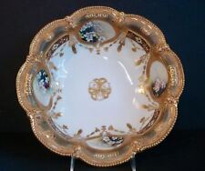 Large ~ Antique ~ Hand Painted Nippon Bowl
