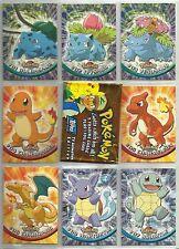 Pokemon TV Animation Edition: Series I Complete Set of 90 Cards TOPPS BLACK LOGO