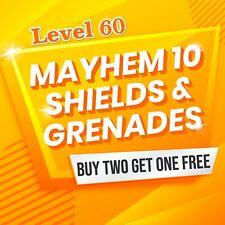 Xbox One Borderlands 3 (Mayhem 10-Level 60) Shields+Grenades Buy 2 Get One FREE