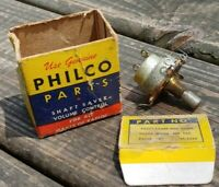 Orig NOS PHILCO 45-5024 or 45-5026 Shaft-Saver VOLUME CONTROL POTENTIOMETER