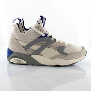 Puma Trinomic R698 Mid Street White Synthetic Womens Trainers 360903 01
