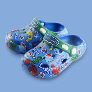 2021 Children's Hole Shoes Soft Bottom Non-Slip Cute Cartoon Children Sandals