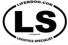 4x6 USN LS LOGISTICS SPECIALIST  STICKER