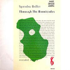 "Spandau Ballet 12"" Through The Barricades (Extended Version) - Holland (VG+/M)"
