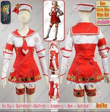 Monster Hunter 3G Red Cosplay Costume Custom