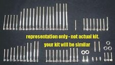 YAMAHA XS650 XS 650 XS1 XS2 Stainless steel engine bolt kit  POLISHED SET