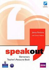Longman SPEAKOUT Elementary Teacher's Resource Book | Parsons & Williams @NEW@