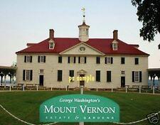 MT VERNON George Washington Home - Travel Souvenir Flexible Fridge Magnet