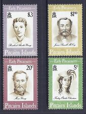 1994 PITCAIRN ISLANDS EARLY PITCAIRNERS SET OF 4 FINE MINT MNH/MUH
