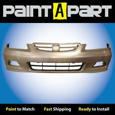 2001 2002 Honda Accord Coupe Front Bumper Painted YR524M Naples Gold Metallic