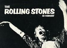 THE ROLLING STONES IN CONCERT EXILE TOUR(1972)JAGGARD RICHARDS ORIGINAL PROGRAM