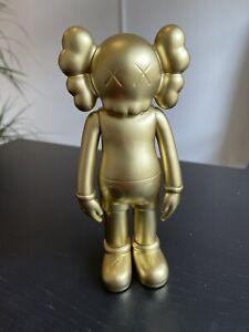 "Medicom КAWS Companion Collectible Vinyl Action Figure 8"" Gold"