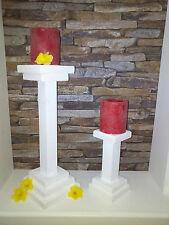 """Kerzenständer Set """"Shabby"""" Handarbeit"""