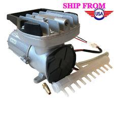 New listing Dc12V Boyu Air Pump Oxgen Compressor Aerator Aquarium Fish Tank Pond 120W 160L/M