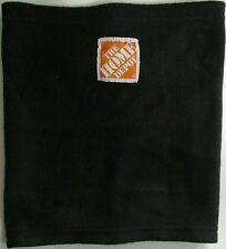*Home Depot Logo Neck Gaiter GUC Black Orange Box DIY Skiing Winter Sports HGTV