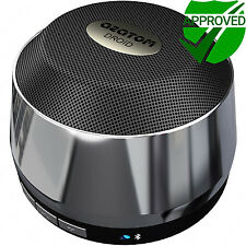 Bluetooth portable speaker iPhone iPod Android iPad Laptop AZATOM Droid Silver