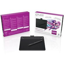 Nouveau! wacom intuos comic s noir pen & touch digital graphic tablet pc & mac