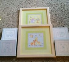 Set of 6 Pictures for Baby's Room