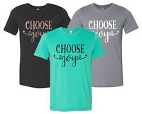 """""""Choose Joy"""" T-Shirt christian bible church faith jesus for king and country"""