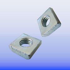Aluprofil 20 Gewindeplatte  Nut 6 mit Gewinde M6 - Menge 100 Stück  Nutensteine