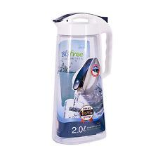 Lock & Lock Tritan Ressort 2 Litres Porte Réfrigérateur Cruche Carafe Récipient